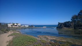 Laguna del UCSB Imagen de archivo libre de regalías