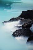 Laguna dell'azzurro dell'Islanda immagini stock