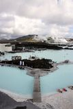 Laguna dell'azzurro dell'Islanda Immagine Stock