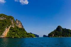 Laguna dell'isola all'oceano, Tailandia Fotografie Stock