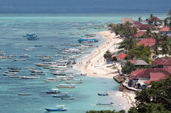 Laguna di Bali Fotografia Stock Libera da Diritti