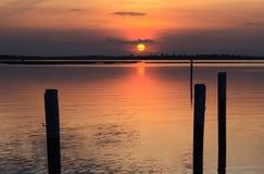 Laguna di Bibione Fotografie Stock