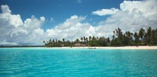 Laguna di Bora Bora immagini stock
