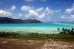 Laguna di bora di Bora immagine stock libera da diritti