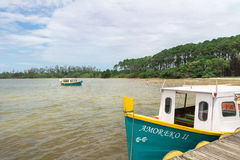 Laguna di Conceicao in Florianopolis, Brasile Immagine Stock Libera da Diritti