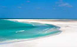 Laguna di Detwah, isola di Socotra, Yemen Immagini Stock Libere da Diritti