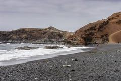 Laguna di EL Golfo Fotografia Stock Libera da Diritti