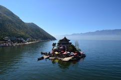 Laguna di Erhai Fotografie Stock
