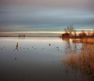 Laguna di Lor Immagine Stock