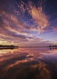 Laguna di Lor Fotografie Stock