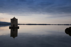 Laguna di Orbetello Photo stock