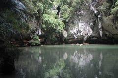 Laguna di principessa Fotografia Stock