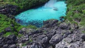 Laguna di Weekuri, isola di Sumba, Indonesia archivi video