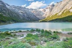 Laguna Esmeralda Patagonia Royaltyfri Fotografi