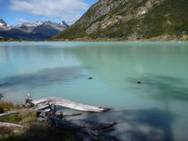 Laguna esmeralda in tierra del fuego in patagonia Royalty Free Stock Photo