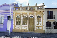 Laguna Facade Historical Building Brazil Royalty Free Stock Photos