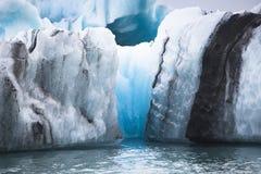 Laguna glacial de Jokulsarlon Imagenes de archivo