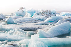 Laguna glacial de Jokulsarlon Foto de archivo