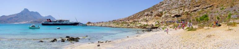 Laguna Gramvousa wyspa, Crete Obraz Stock