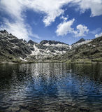 Laguna. Grande (Great Lake), Sierra de Gredos, Spain royalty free stock images