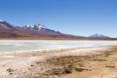 Laguna Hedionda άποψη, Βολιβία Στοκ φωτογραφία με δικαίωμα ελεύθερης χρήσης