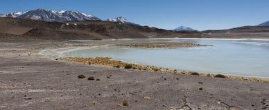 Laguna Honda en ` profundo de la laguna del ` inglés en el reserva Eduardo Avaroa - Bolivia de Lipez Altiplano del sud imagenes de archivo