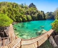 Laguna jezioro Obrazy Royalty Free