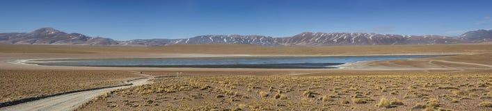 Laguna Kollpa Kkota Collpa Laguna, Sud Lípez Province, Potosí Department Stock Photography