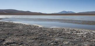 Laguna Kollpa Kkota Collpa Laguna, Sud Lípez Province, Potosí Department Royalty Free Stock Images