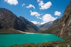 Laguna Llanganuco Immagini Stock