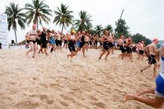 Laguna Marathon Royalty Free Stock Photos