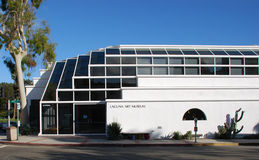 Laguna muzeum sztuki, laguna beach, Kalifornia. Obrazy Stock