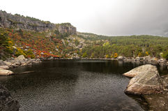 The Laguna Negra in Soria Royalty Free Stock Images