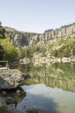 Laguna Negra, Soria, Castille-Léon, Espagne photo stock