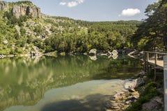 Laguna Negra, Soria, Castille-Léon, Espagne photographie stock libre de droits