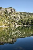 Laguna Negra, Soria. Scenic Laguna Negra in Soria, Central Spain Royalty Free Stock Photos