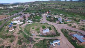 Laguna New Mexico Aerial video stock video footage