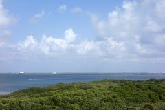 Laguna Nichupte, Yucatan, Mexico Royalty Free Stock Image