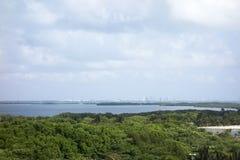 Laguna Nichupte, Yucatan, Mexico Stock Photography