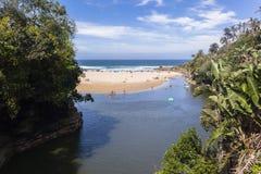 Laguna oceanu wakacje Zdjęcie Royalty Free