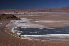 Laguna at Paso de Jama Stock Images