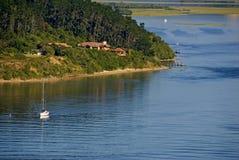 Laguna pigra fotografie stock libere da diritti