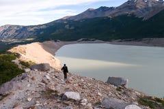 Laguna zamknięty Cerro Torre Obraz Royalty Free