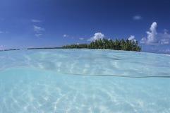 Laguna Polinesia francesa Fotografía de archivo