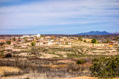 Laguna pueblo town site in new mexico Royalty Free Stock Photos