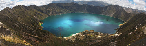 Laguna Quilotoa Royalty Free Stock Photos