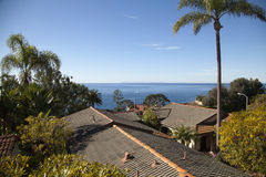 Laguna Rooftops Stock Photography