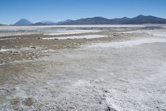 Laguna Salinas Blanca Royalty Free Stock Images