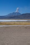 Laguna Salinas Blanca Stock Image
