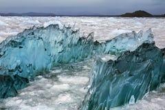 Laguna San Rafaël - Patagonië - Chili Royalty-vrije Stock Foto's